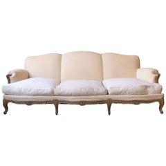 French 1950s Louis XV Style Sofa