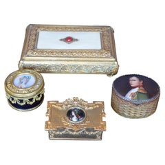 Collection of Four 19th Century French Boxes