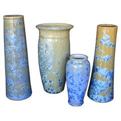 Collection of Crystalline Glazed Ceramics