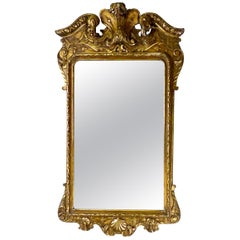 Ornate French 19th Century Gilded Baroque Mirror
