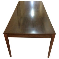 20th Century Finn Juhl Rosewood Diplomat Series Long Table