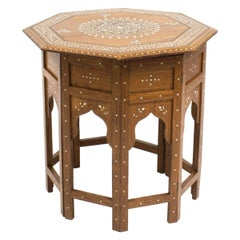 Anglo-Indian Octagonal Side Table