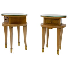 Art Deco Side Tables, 1920s