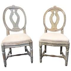 Pair of 19th Century Swedish Gustavian Chairs