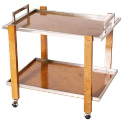 French Bar Cart by Willy Rizzo, circa 1970