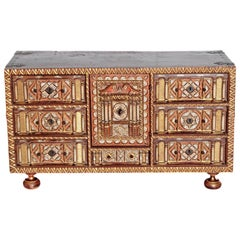 Spanish Bargueno / Portable Desk Cabinet