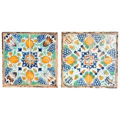 Pair of Italian Tiles