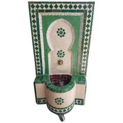 Mini Tri-Color Moroccan Mosaic Fountain - Marrakech 2