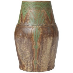 Early 20th Century Royal Doulton Stoneware Vase, William Rowe, 1920
