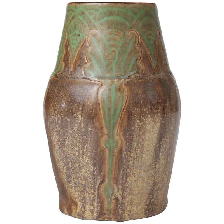 Art Nouveau Royal Doulton Stoneware Vases For Sale At 1stdibs