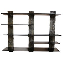 Paul Evans Brutalist Wall Shelving
