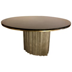 Chic Brutalist Dining/Centre Table by Max Papiri