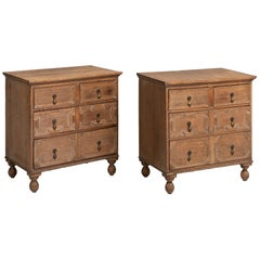 Oak Chest of Drawers, England, circa 1920