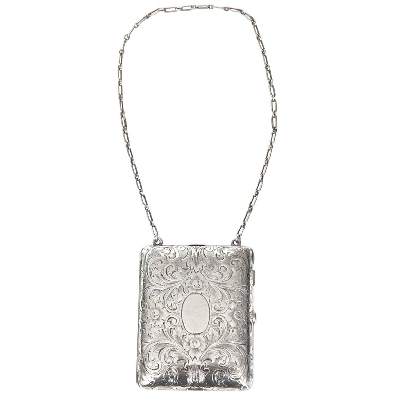 Tiffany And Co Sterling Compact Purse For Sale At 1stdibs