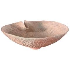 Artist Made Ceramic Bowl, Signed Terry