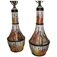Perfume of Perfume Bottle Decorated Lamps