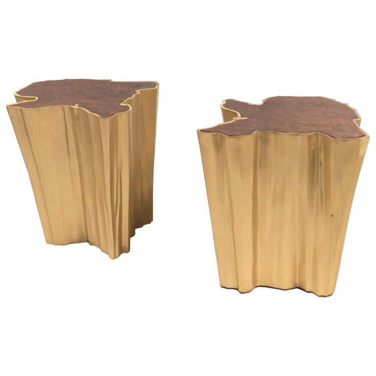Pair of Side Tables, France, 2017 For Sale