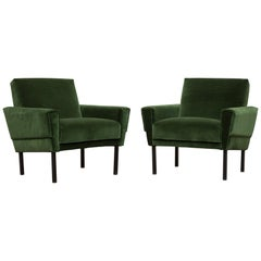 Pair of 'Mad Men' Style Lounge Chairs