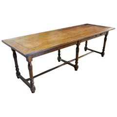 French 19th Century Draper's Table