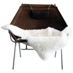 Erik Ole Jorgensen Rare Lounge Chair for Bovirke, Denmark, 1953