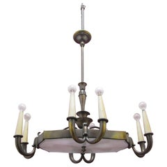 Chandelier with an Impressive Design from the Middle of the Century in the Style