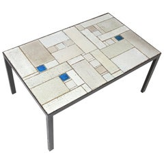 Pia Manu Coffee Table Made by Amphora, Belgium, 1960s