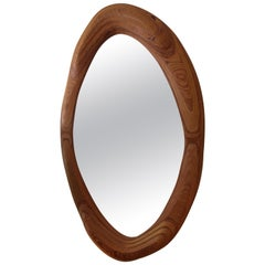 American Craft Sculpted Plywood Mirror