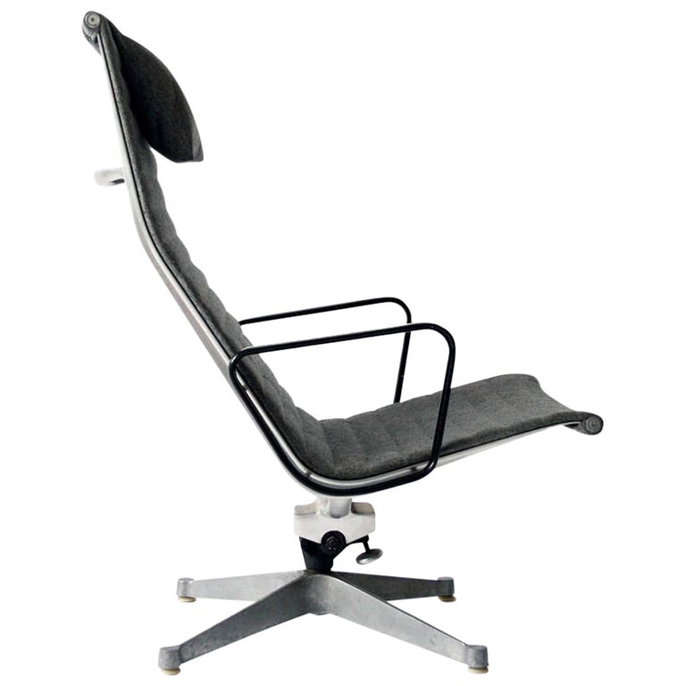 Charles Eames Aluminum Group Lounge Chair