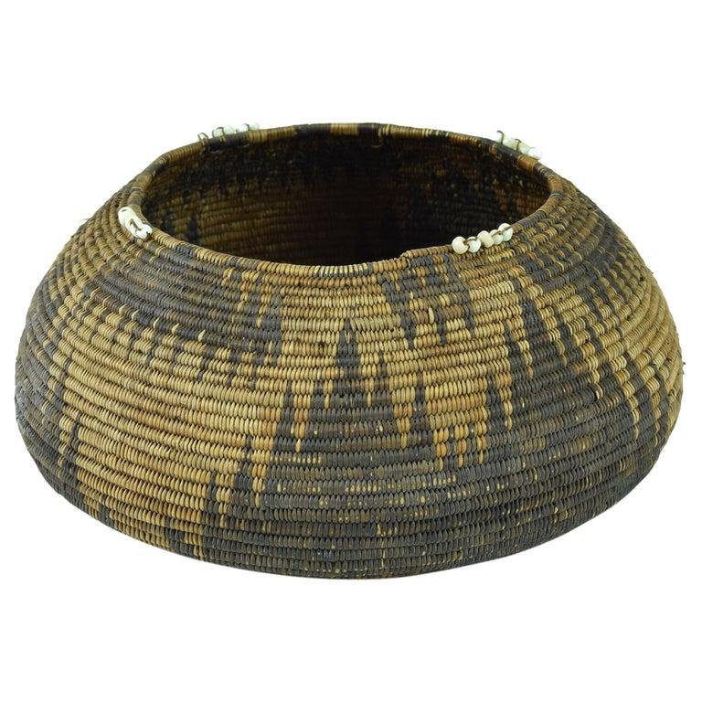 19th Century Patwin Basket