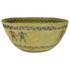 Yokut Figurative Basket