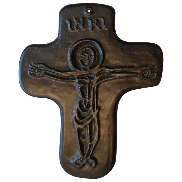 Crucifix by Georges Jouve For Sale