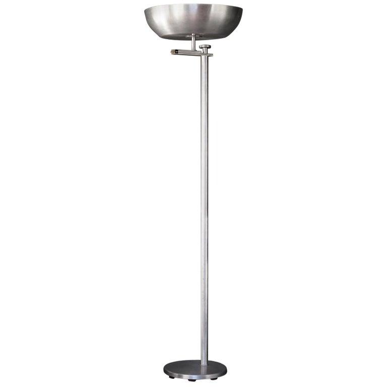 Kurt Versen Flip Shade Floor Lamp