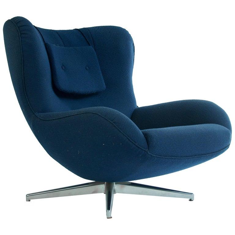Swivel Lounge Chair by Illum Wikkelsø