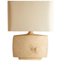 1970s French Ceramic Table Lamp from Vallauris