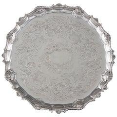 George III Silver Salver, London, 1763