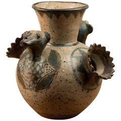 Rorke's Drift Ceramic Vase by Eurial Damane