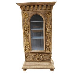 Antique French Rococo Display Cabinet