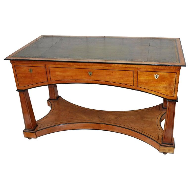 Antique French Biedermeier Desk or Writing Table