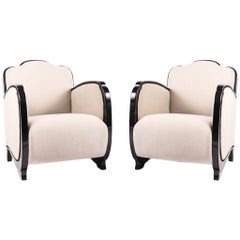 Art Deco Armchairs from France, 1930s