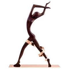 Werkstatte Hagenauer Monumental Wooden Dancer, circa 1950s