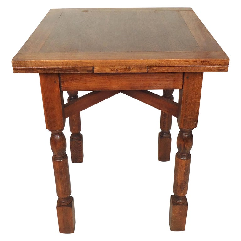 Vintage Antique Extendable Dining Table