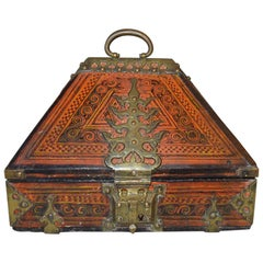 "Beautiful 19th Century South Indian ""Malabar"" Marriage Dowry Box"