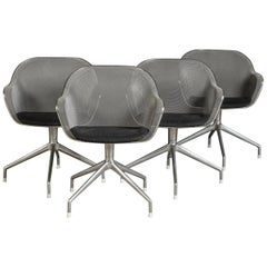 Set of 4 Luta Chairs by Antonio Citterio for B&B Italia