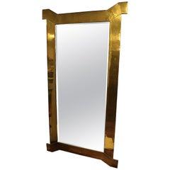 Custom Solid Brass Mirror by Chapman