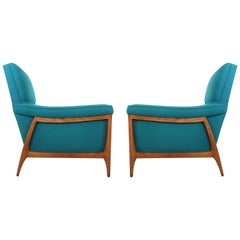 Pair of Lounge Chairs by Kroehler