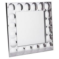 Modernist Bubble Framed Mirror