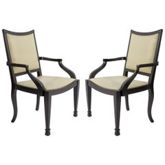 Pair of J Robert Scott Occasional Chairs