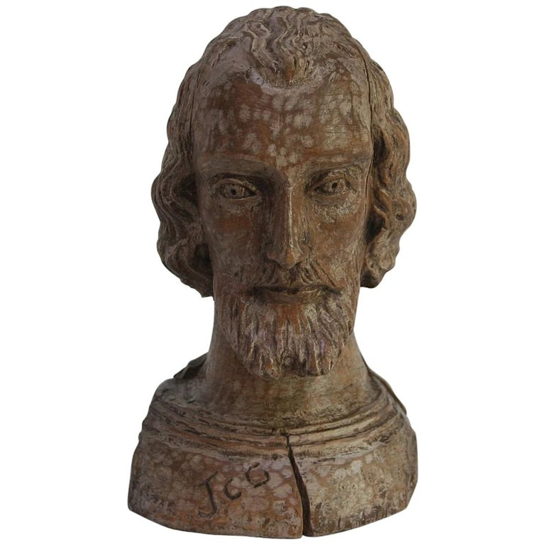 Small 18th Century Spanish Reliquary Bust
