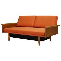 Retro Sofa Danish Design Ash Daybed 1960 1970