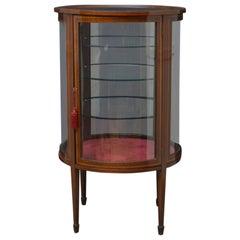 Large Edwardian Display Cabinet